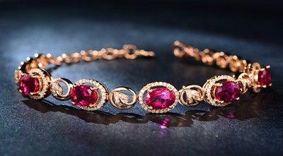 """有着""""双胞胎""""之称的红宝石和红碧玺要怎么区分呢?"""