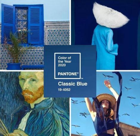 今年流行色经典蓝 瞬间提升整体的气质和魅力