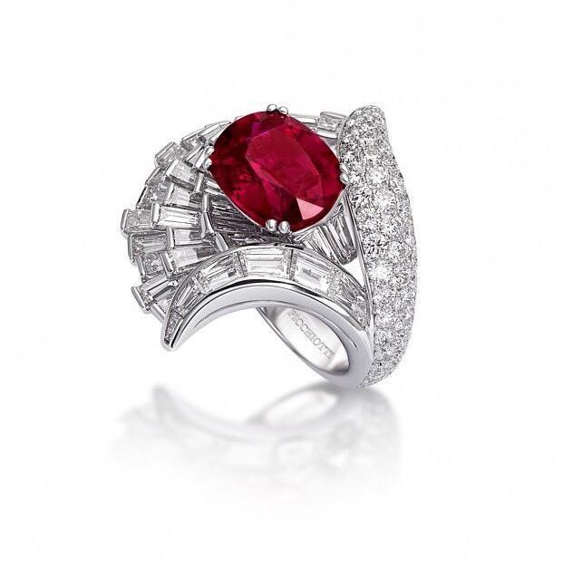 难得一见的奢华 这几款顶级红宝石戒指值得一看!