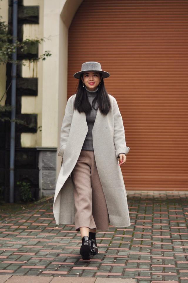 大衣5种风格穿搭 让你美的不一样!