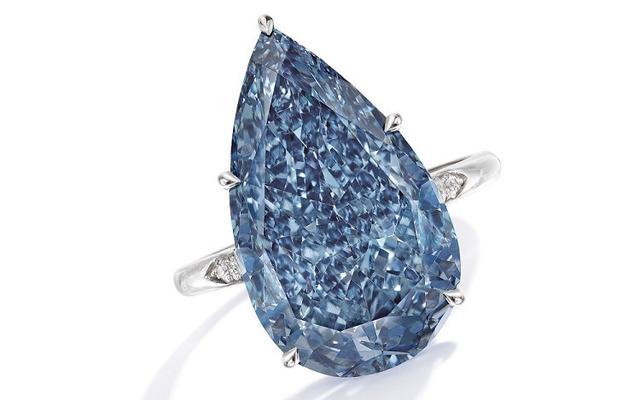 5款10克拉以上极致蓝色钻石到底有多惊艳呢?