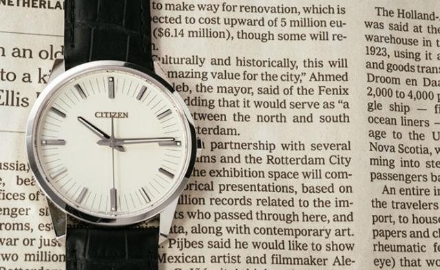 西铁城腕表怎么这么准呢?