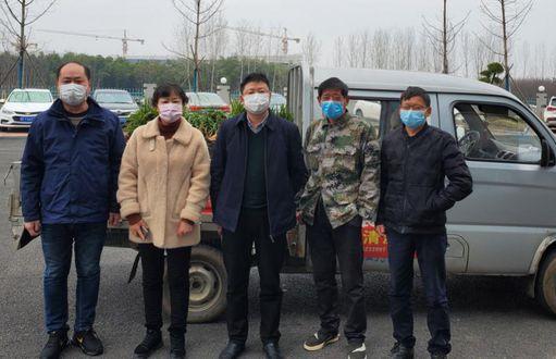 湖北襄阳体彩业主:捐赠爱心蔬菜给抗疫前线人员