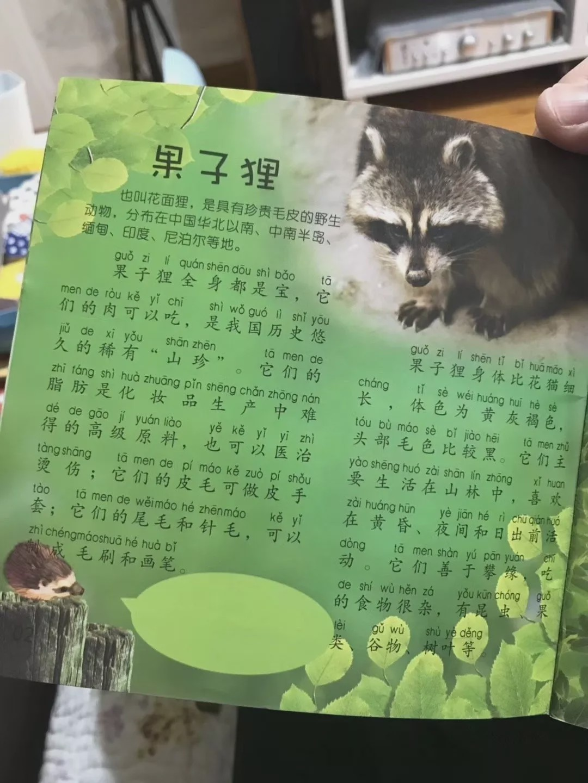 """果子狸""""肉可以吃""""是怎么回事?出版社回应儿童刊物"""