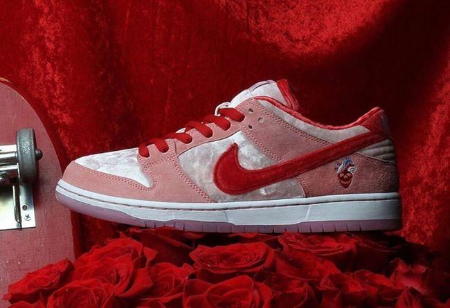 StrangeLove x Nike SB Dunk Low等 这里有不容错过的情人节新品哦!