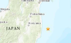 日本发生5.2级地震 震源深度80.7千米