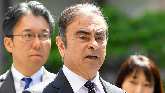 日产汽车指控戈恩 寻求损失赔偿100亿日元