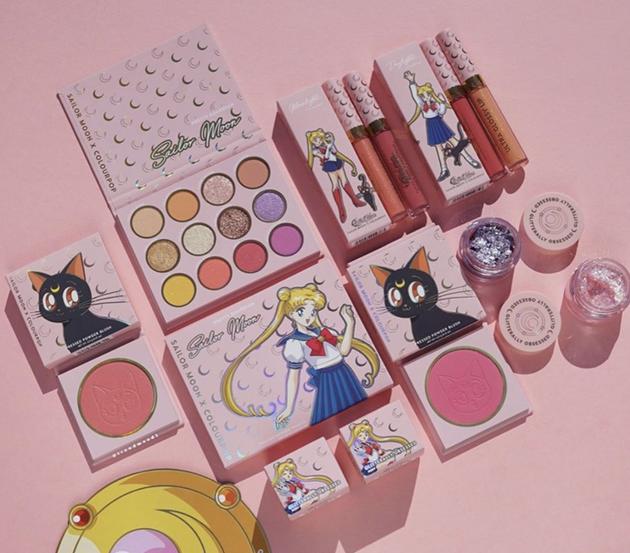 美少女战士联名彩妆发售 喜欢的你一定不要错过噢!