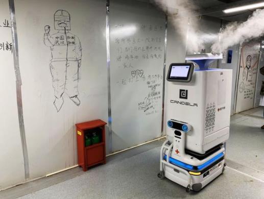雷神山机器人上岗 该机器人有什么作用?