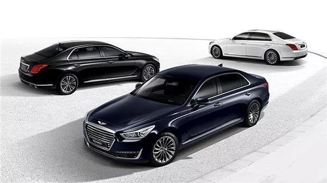 能媲美奔驰S级的韩系豪车——捷恩斯G90