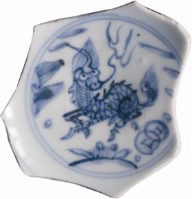 三幅《天禄图》瓷画鉴赏