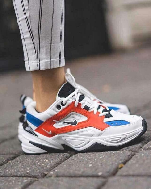Nike M2K Tekno 一双老爹鞋果然让女生瞬间潮流起来了!