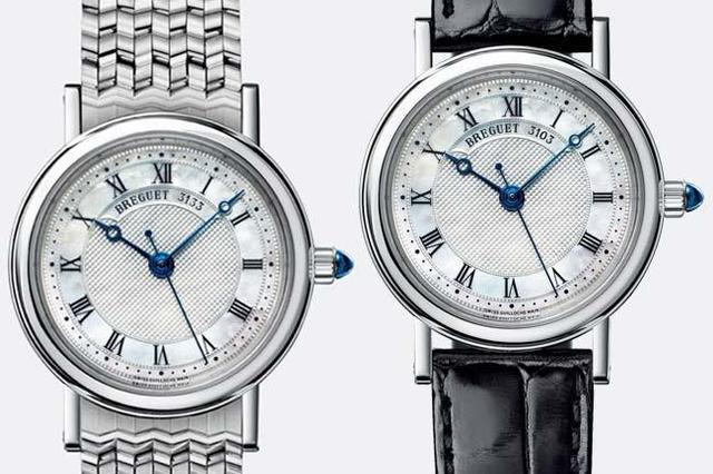 流行小尺寸的腕表 这款宝玑BREGUET经典系列8067就很不错!