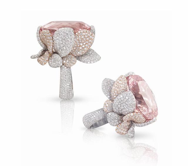 4款桃色摩根石珠宝 闪亮你的眼!