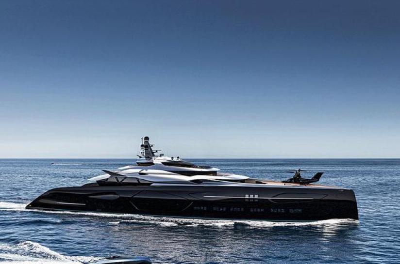 世界上最美的——半人马座号超级游艇