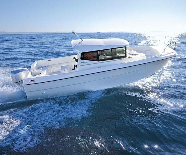 游艇长度差一米 舒适度完全不一样的