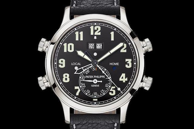 百达翡丽推出结合两地时间与响闹功能的Ref.5520P腕表