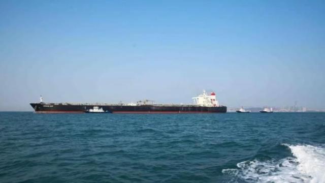23万吨原油从中东顺利抵达青岛