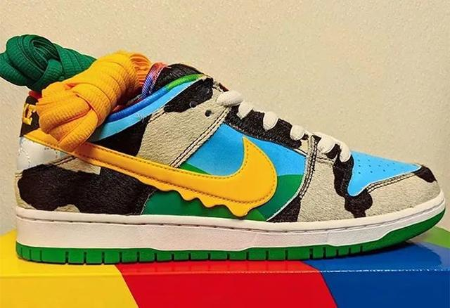 Ben & Jerry's 即将携手Nike SB Dunk打造全新联名鞋款!