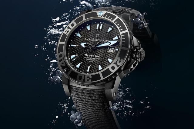 宝齐莱发表全新柏拉维 深潜腕表碳黑腕表!