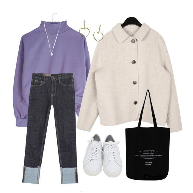 春天看看这些 适合女孩子温柔的紫色穿搭!