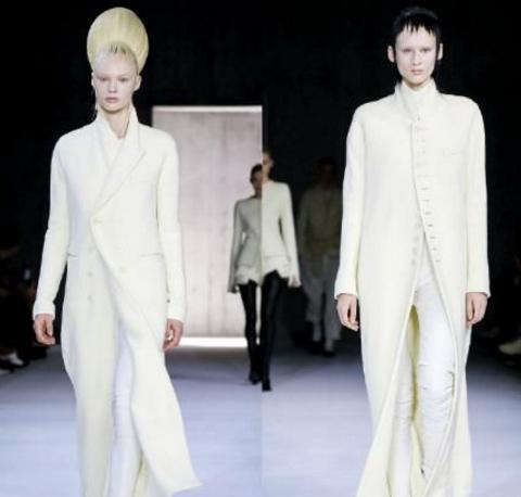 2020年时装展上的极简风格 顺畅线条无失雅致