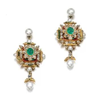 新艺术风格珠宝 让世人重新欣赏失落多个世纪的珐瑯工艺