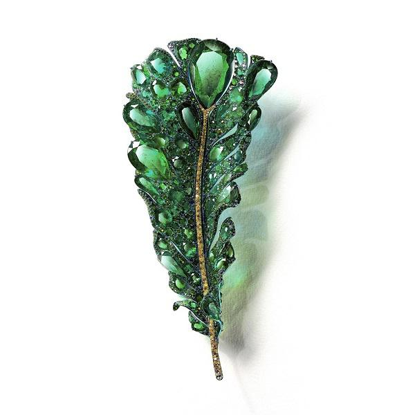 Cindy Chao延续经典的羽毛元素推出珠宝新品