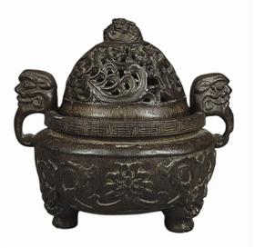 [九歌拍卖]民国时期的三足香薰炉鉴赏