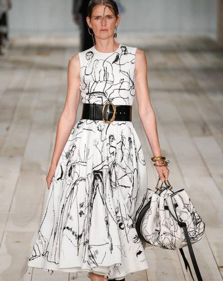 Alexander McQueen2020春夏高级成衣 与世界重建联系