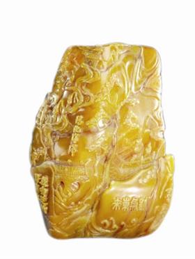 「建兰图片」清代如南山之寿寿山石章鉴赏