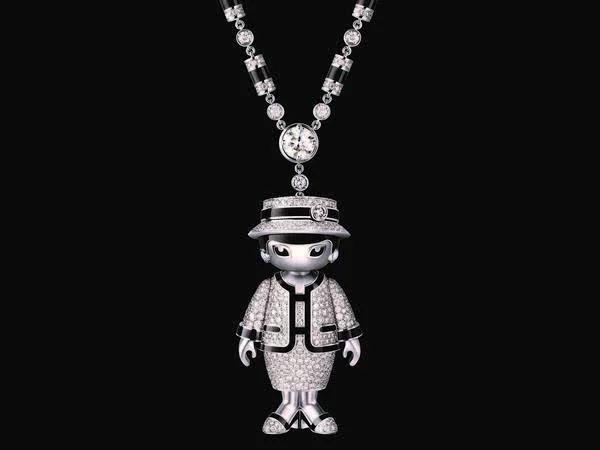 Coco Chanel女士为原型打造的5件限量COCO长项链