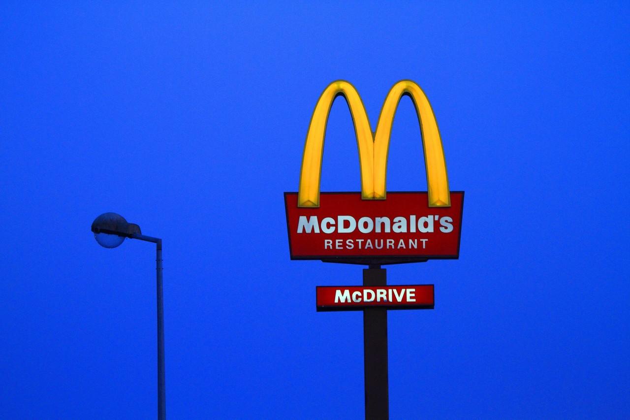 麦当劳一季度净利润为11.07亿美元 同比下降16.67%
