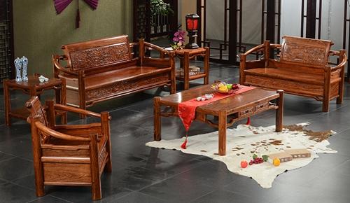 """""""古味居中式古典沙发""""红木家具多少钱一套"""