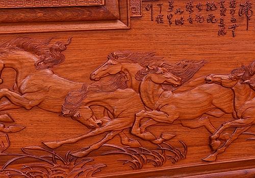 """""""金乾贯章红木罗汉床""""红木家具的价格"""