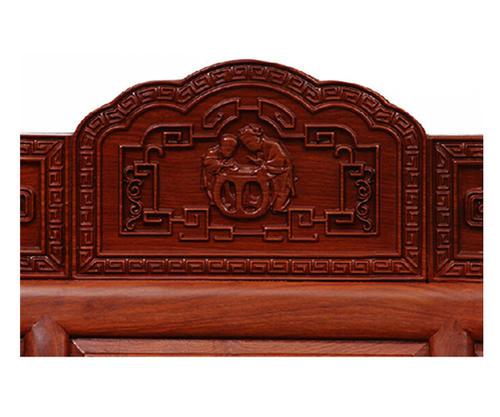 """""""龙上龙红木床""""红木家具的价格"""