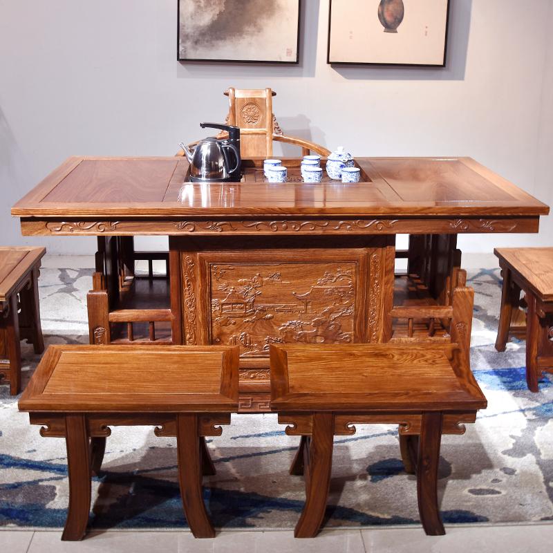 """""""百家汇中式茶几""""红木家具的价格"""