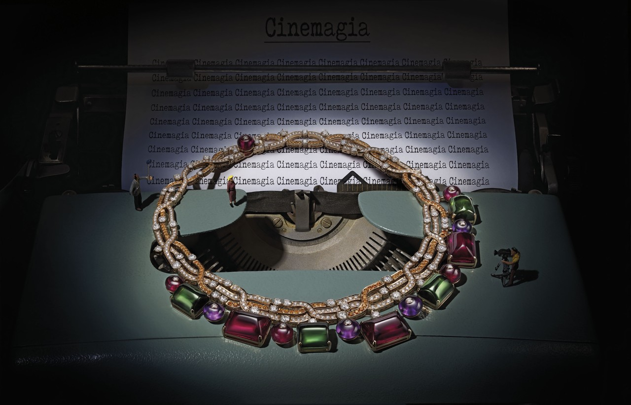 """宝格丽推出""""Barocko""""高级珠宝系列新品 融合充满流动感的建筑元素"""