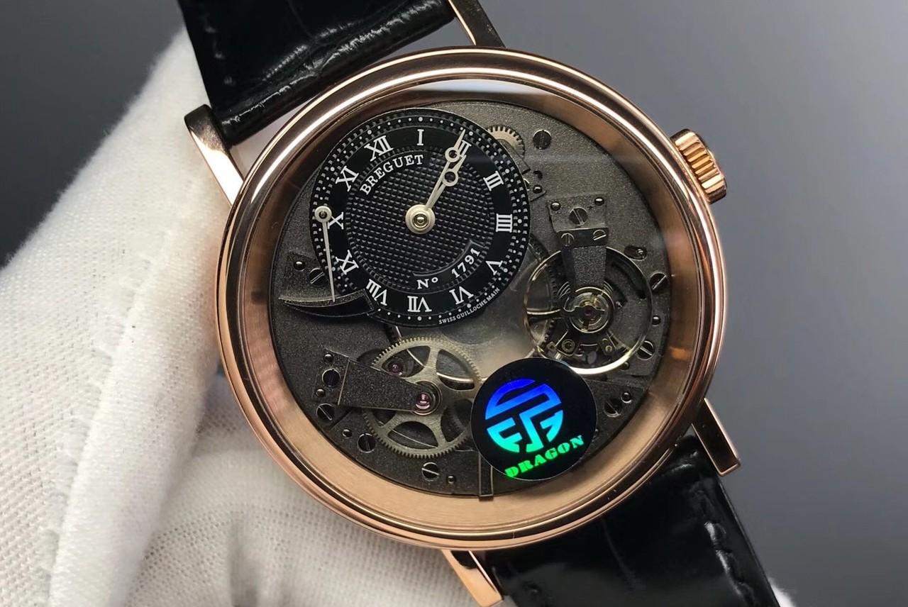 宝玑2017 Only Watch 线性万年历腕表:以规范式直线排列方式整合多元的时间信息