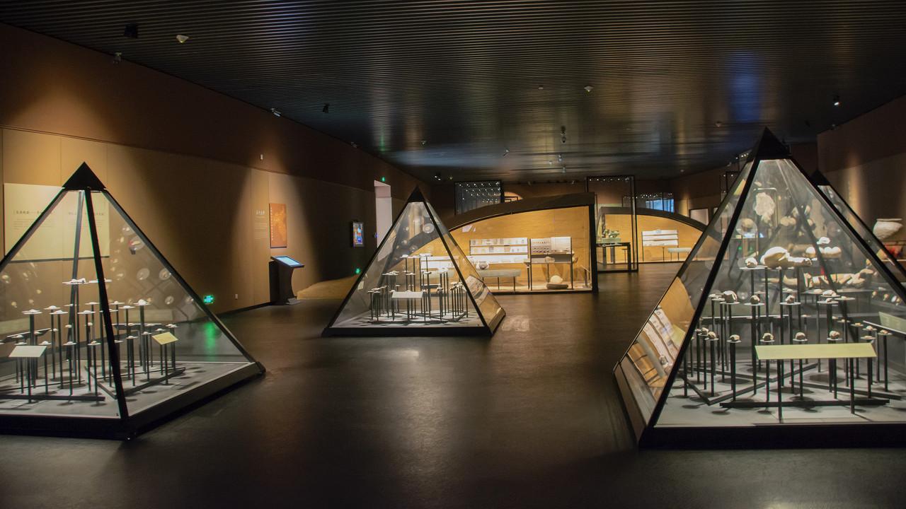 河北磁县的北朝考古博物馆重现1500多年前民族文化融合的北朝岁月