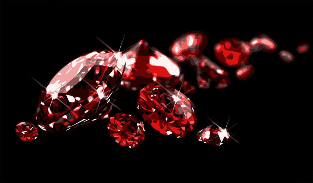 """""""爱情之石""""红宝石:象征美好忠贞的爱情"""