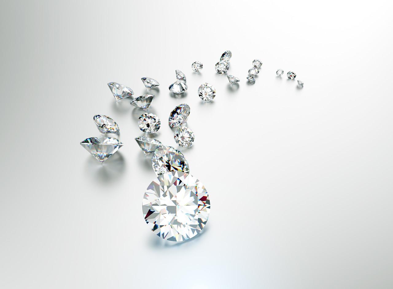 南非 Cullinan 钻石矿新发现5颗高品质蓝钻原石 均为 Type IIb 型钻石