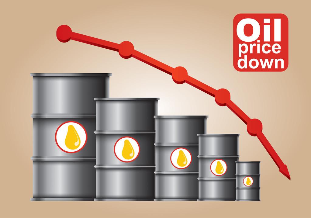 库存美元股市全线利空 美油重挫5%