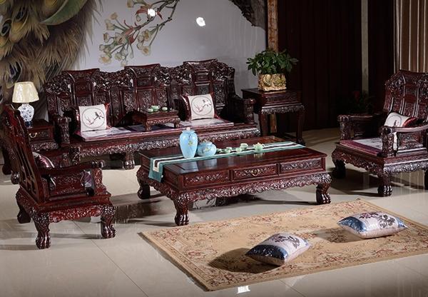 """""""逸馨红木沙发""""红木家具多少钱一套"""