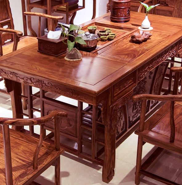 """""""百家汇茶桌椅""""红木家具价格多少钱"""