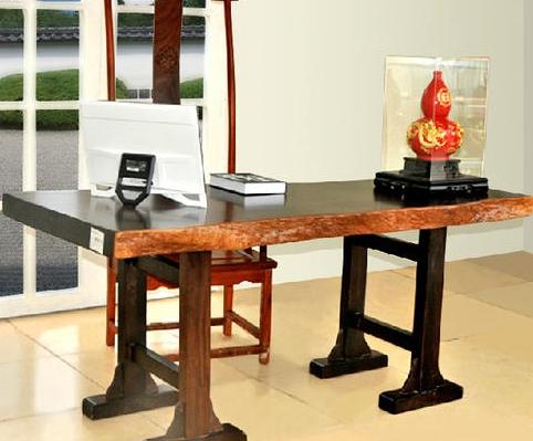 """""""根之魂红木桌黑檀""""红木家具的价格"""