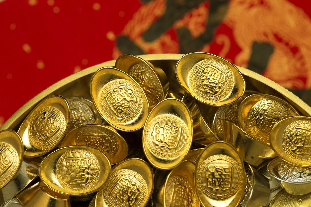 黄金上涨得益避险 避险降温金价回调