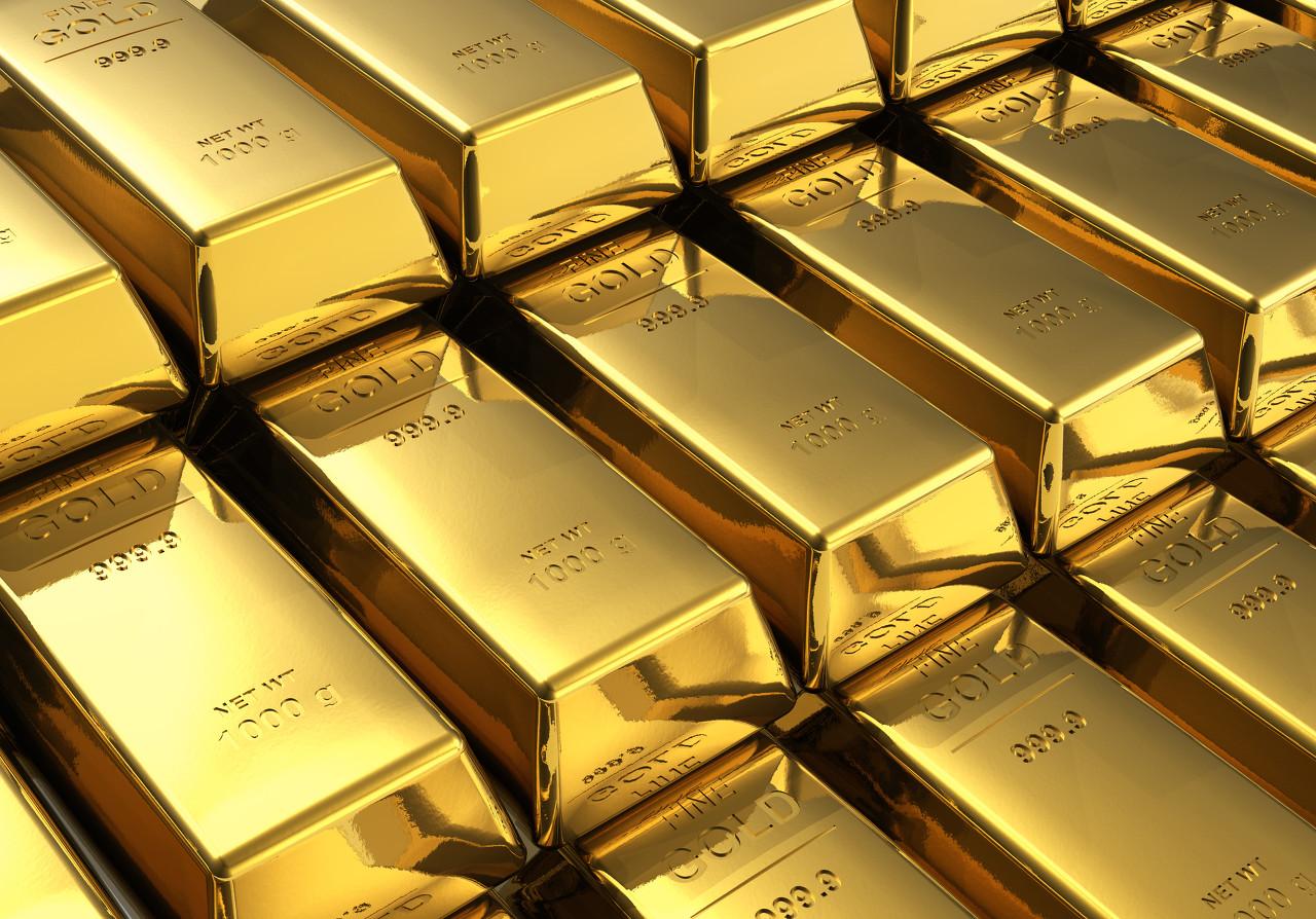 美国股市大幅上涨 现货黄金持续看涨