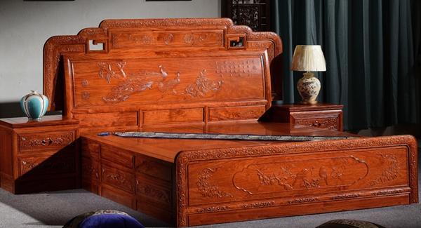 """""""德丽欧红木床""""红木家具价格多少钱?"""