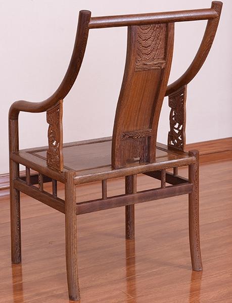 """""""曦轩阁鸡翅木围椅""""红木家具的价格"""
